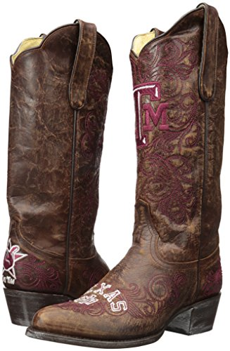 amp;M 13 Boots Gameday Brass Texas Aggies Inch A NCAA Women's PaqZBx