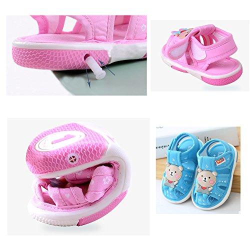 Bébé Sandales, Chaussures pour bébé, doux Fond antidérapant 0–3ans Vieux N
