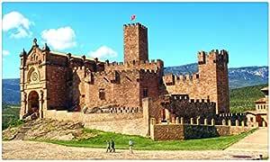 España Castillos castillo de Javier Navarra ciudades característica Tourist Souvenir muebles & decoración imán imanes de nevera: Amazon.es: Hogar