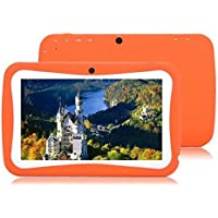 7inch Android 4.0 Childrens Kids Game Tablet Pc Birthday Christmas Gift Camera Orange