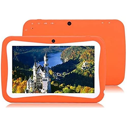 7inch Android 4.0 Children's Kids Game Tablet Pc Birthday Christmas Gift Camera Orange Coupons