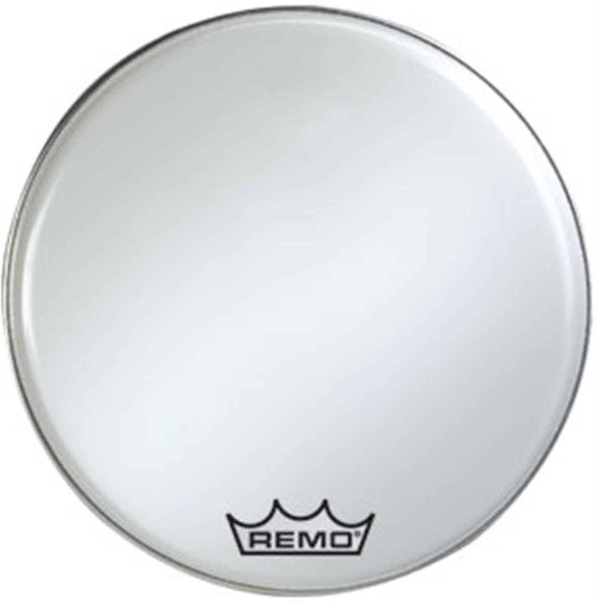 Remo BR-1216-MP 16-Inch Ambassador Marching Bass Drum Head, Smooth White KMC Music Inc