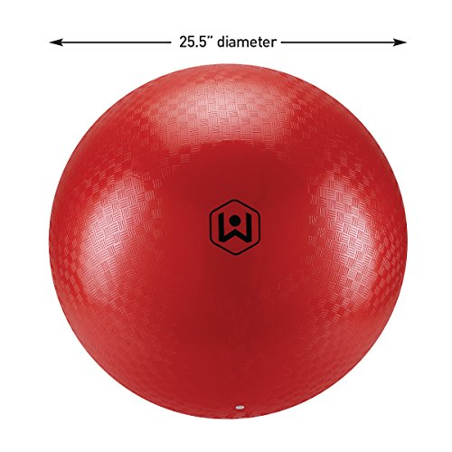 51JvI KrE5L - Wicked Big Sports Kickball-Supersized Kickball Outdoor Sport Tailgate Backyard Beach Game Fun for All