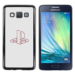 TaiTech / Case Cover Housse Coque étui - Play Station - Samsung Galaxy A3