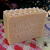 Goat's Milk and Organic Coconut Milk (Bar Soap) - Fragrance Free Handmade Natural