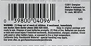 Energizer CR1632 3 Volt Lithium Coin Battery