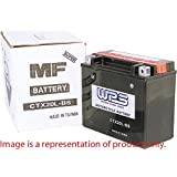 WPS Factory Activated Maintenance Free Sealed Battery CTZ7S by WPS Western Power Sports