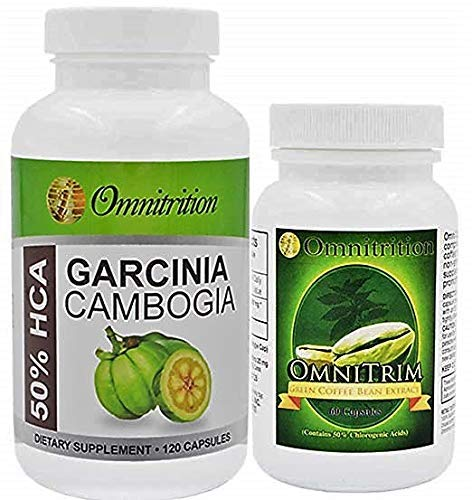 Omnitrition Bundle - Garcinia Cambogia & Green Coffee Bean Extract Combination by Omnitrition