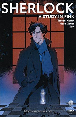 Sherlock Manga: A Study in Pink #3A VF/NM ; Titan comic book