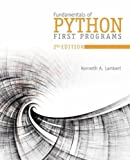 Fundamentals of Python: First Programs and Data Structures