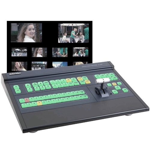 Datavideo SE-2800-8SK | 8-Input SD Multi-Definition HD SD Switcher Studio Kit SE2800-8 TLM-170H HDR-50 ITC-100 CASDI-50 RKM-2000 by DATAVIDEO