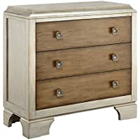 Madison Park Manor Trimmed Accent Chest, Silver