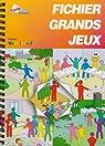 Fichier Grands Jeux par Francas