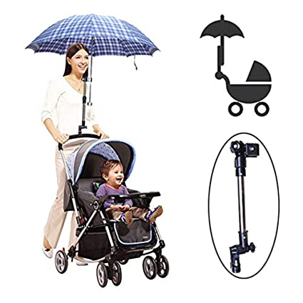[Free Shipping] Baby Stroller Adjustable Umbrella Holder Parasol Bracket // Cochecito de bebé