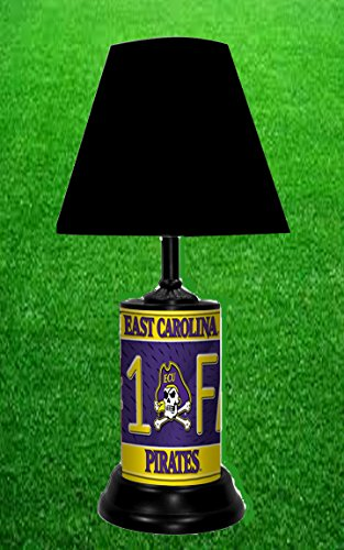 EAST CAROLINA PIRATES NCAA LAMP - BY TAGZ SPORTS