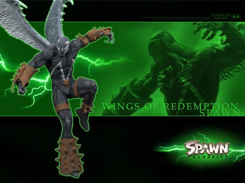 (SPAWN WINGS OF REDEMPTION - Spawn Series 34: SPAWN CLASSICS Ultra Action Figure)