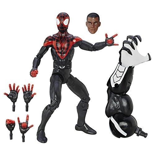(Marvel Spider-Man 6-inch Legends Series Ultimate Spider-Men: Miles Morales)