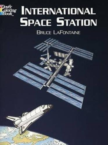 International Space Station Coloring Book (Dover History Coloring Book) - Station Coloring Book