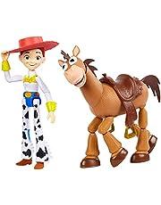 Disney Pixar Toy Story GJH82 – Jessie och Bully-äventyr 2-pack