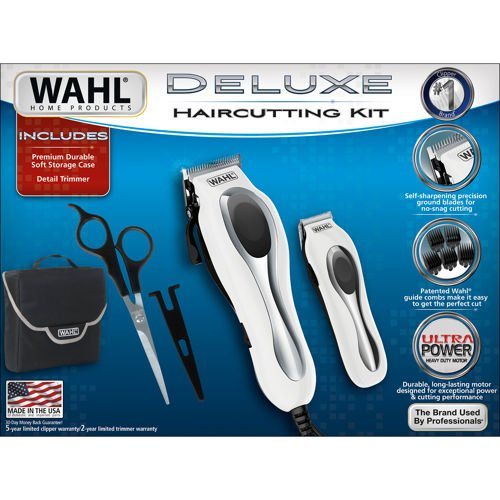 WAHL Deluxe Haircutting Kit by Wahl