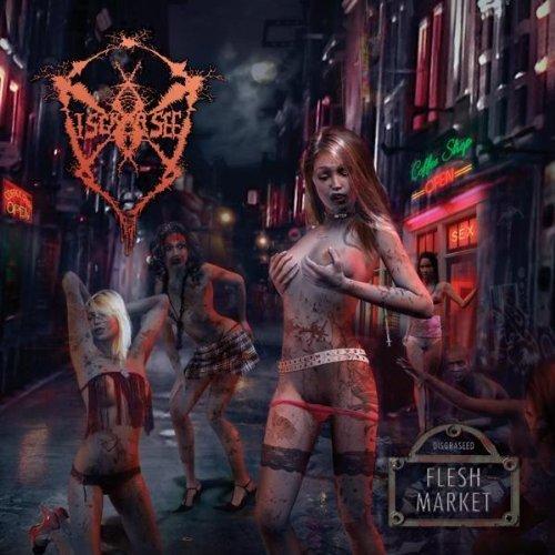 CD : Disgraseed - Flesh Market (CD)