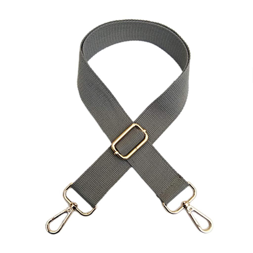 ESden Adjustable Shoulder Strap Wide Handbag Crossbody Bag Canvas Replacement Belt