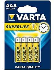 VARTA Superlife 4 AAA Çinko Karbon Pil