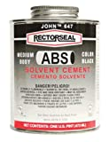 Rectorseal 55938 1/4 Pint 647L Low Voc Abs Solvent Cement