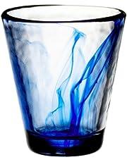 Bormioli Rocco Murano 9 oz. Cobalt Blue Beverage Glass, Set of 4
