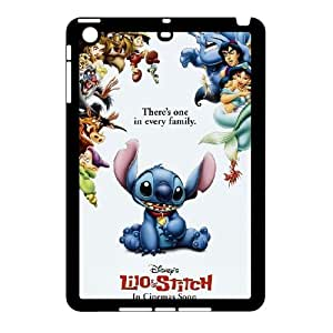 Wholesale hiqh quality Lilo & Stitch,quotes Ohana means family series hard pattern case cover For Ipad Mini Case TB-stitch-8I54595