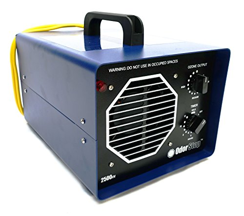 OdorStop Professional Grade Ozone Generator with UV (OS2500UV)