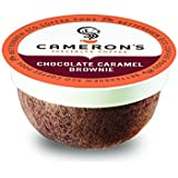 Cameron's Coffee Single Serve Pods, Flavored, Chocolate Caramel Brownie, 12 Count (Pack of 6)