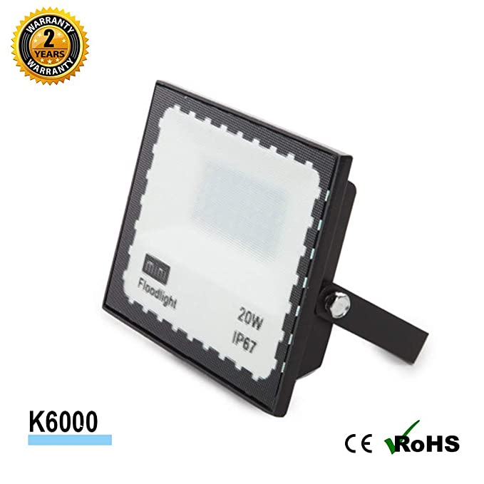 Foco Proyector LED SMD Mini 20W 90LM/W Antideslumramiento Jardin ...
