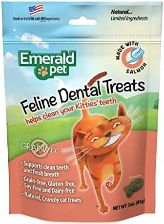 Emerald Pet Premios Dentales de Salmón DE 85 g para Gato 2