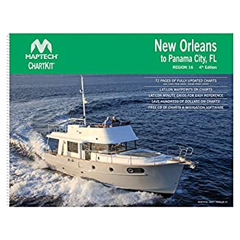 Image of Central America MAPTECH New Orleans to Panama City, FL Chart Book