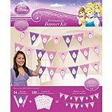 Disney Princess Pennant Banner, Multicolored