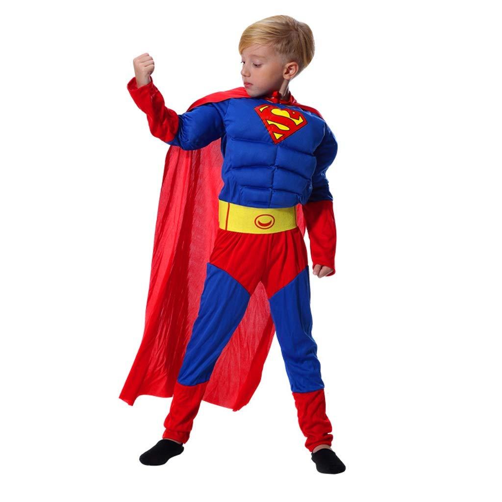 Zunruishop Disfraz de Halloween Ropa Muchacho Cosplay Superman ...