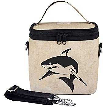 SoYoung Black Shark Large Cooler Bag, Raw Linen