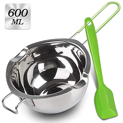 Soup Pot,Mini Milk Heating Pot Sauces Butter Chocolate Melting Pan with Handle Stainless Steel Cookware Baking,800Ml
