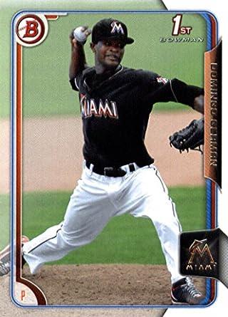 Amazon 2015 bowman prospects baseball card bp118 domingo 2015 bowman prospects baseball card bp118 domingo german nm mt sciox Images