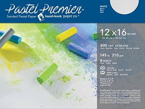 Handbook Paper Pastel Premier Paper X-Fine 12X16 6 Sheet Pk by Handbook Paper