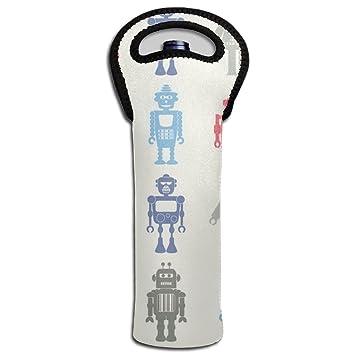 Robot vino bolso/Monedero para libro Club con aislamiento ...