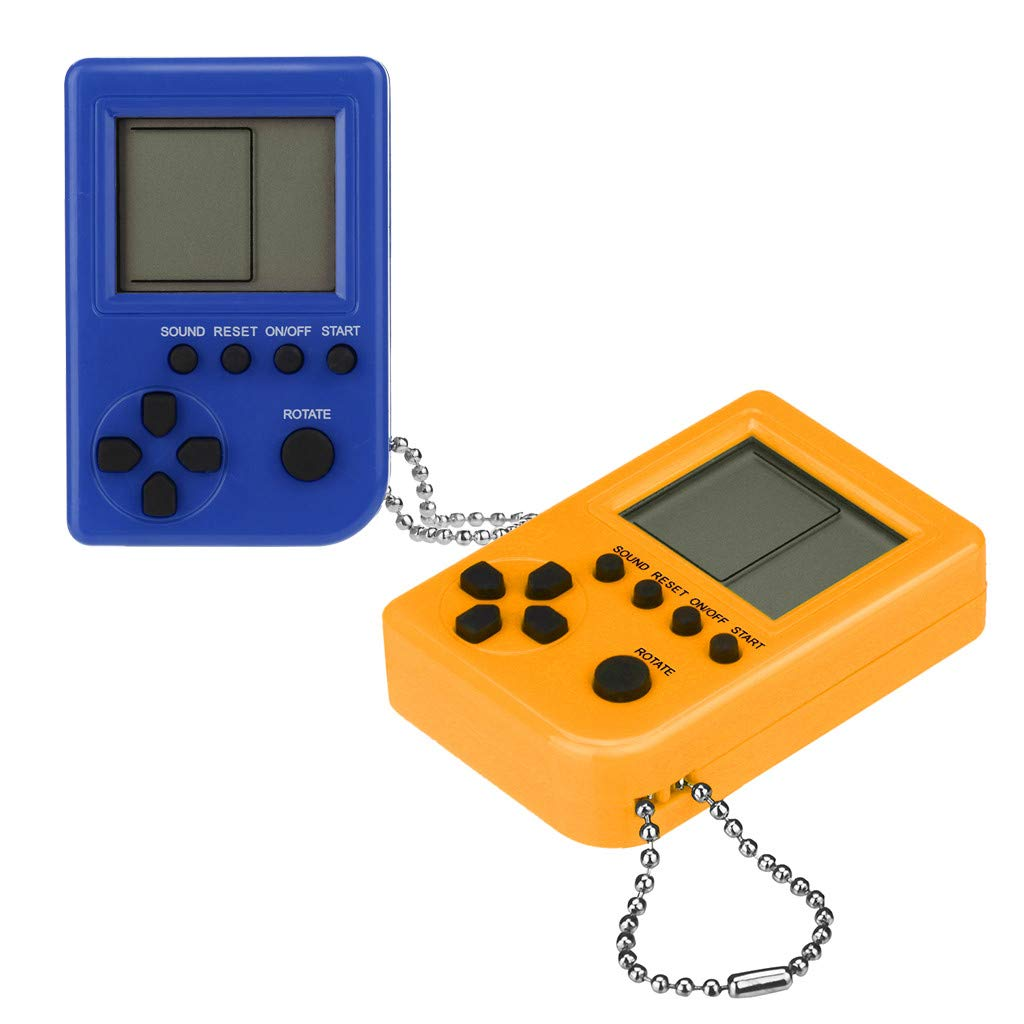 Liqiqi Tetris Consola de Juegos Super Mini Retro de Mano ...