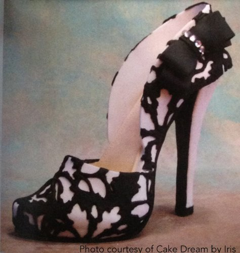 5 quot high heel shoe kit for gumpaste fondant in the uae see