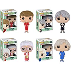 The highly anticipated release of the golden girls pop's! is here! add all four character to your collection today!.