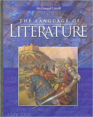 McDougal Littell Language of Literature: Student Edition Grade 10