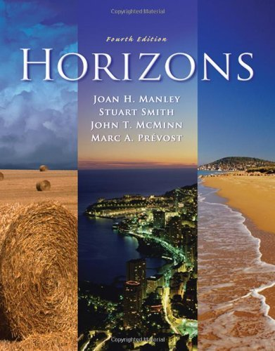Download Horizons (with Audio CD) 4th (fourth) by Manley, Joan H., Smith, Stuart, McMinn, John T., Prevost, Ma (2008) Hardcover pdf