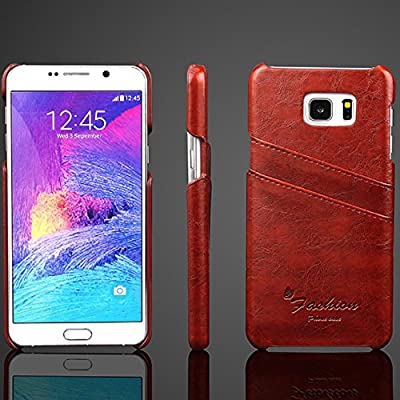 abcsell Leather Card Slot Shell Case for Samsung Galaxy Note 5 by ABC®-1231