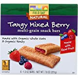 Field Day Snack Bars – Organic – Multi-Grain – Filled – Tangy Mixed Berry – 6/1.3 oz – case of 6