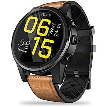 Amazon.com: LEMFO LEMX Smart Watch Phone 4G LTE - Android ...